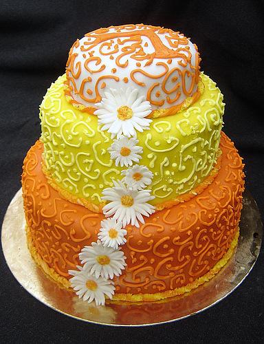 Медовый торт мастика фото