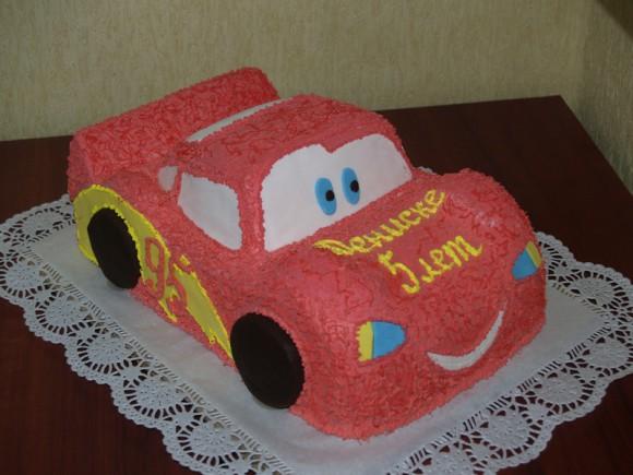 Торт машинка из крема фото