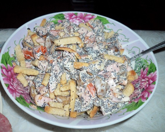 Маковый салат